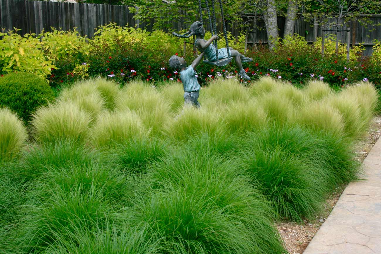 Change Of Seasons Distinctive Landscape Design And